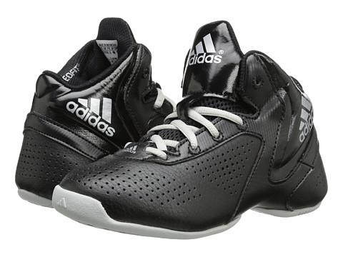 adidas Kids - Next Level Speed 3 K (Little Kid/Big Kid) (Black/Silver Metallic/White) Boys Shoes