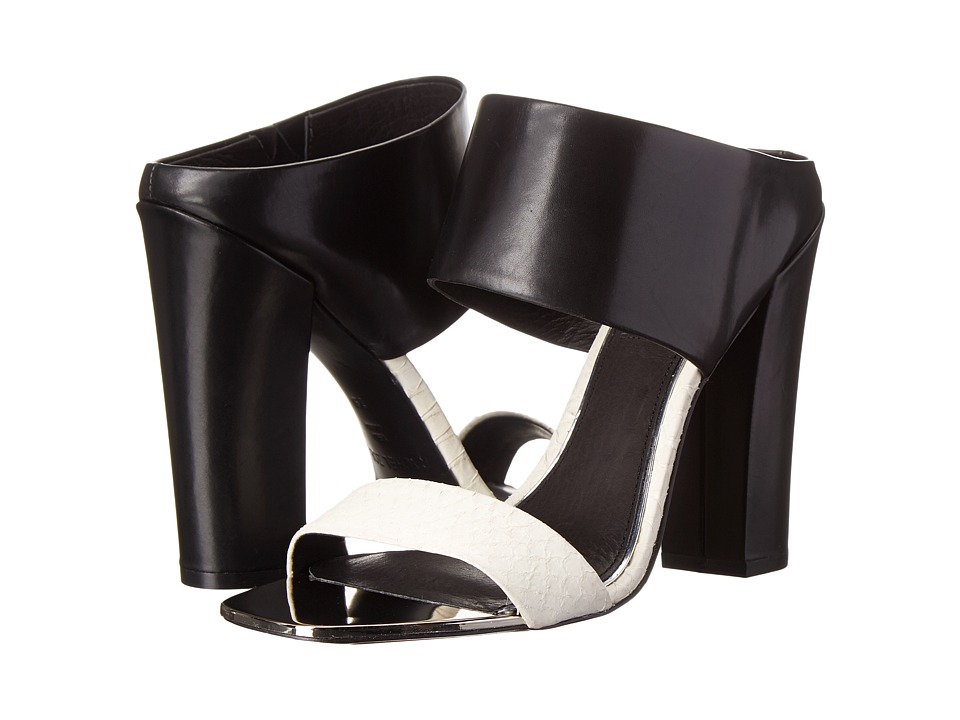 Rachel Zoe - Skyla (Black/White Snake) High Heels