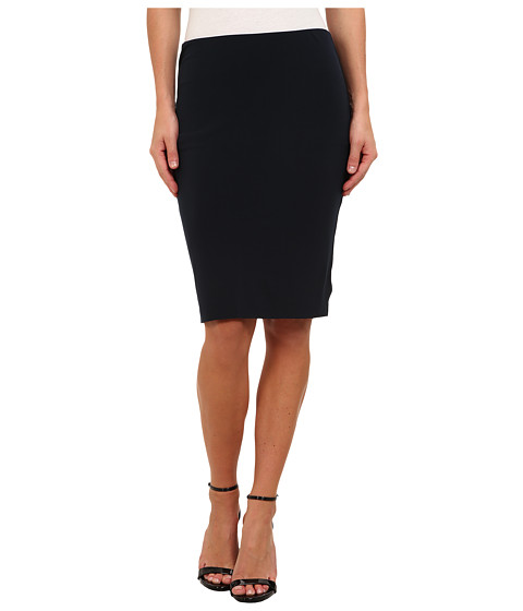 Velvet by Graham & Spencer - Alika02 Stretch Jersey Skirt (Midnight) Women