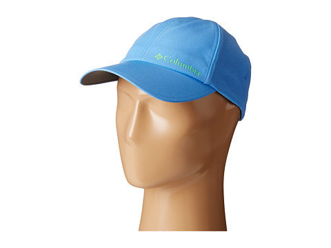 Columbia - Silver Ridge Ball Cap (Harbor Blue/Chameleon Green) Baseball Caps