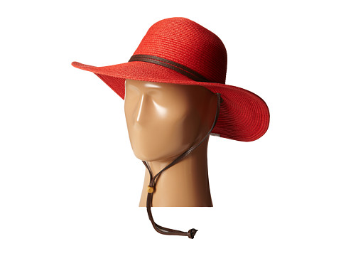 Columbia - Global Adventure Packable Hat (Red Hibiscus) Traditional Hats