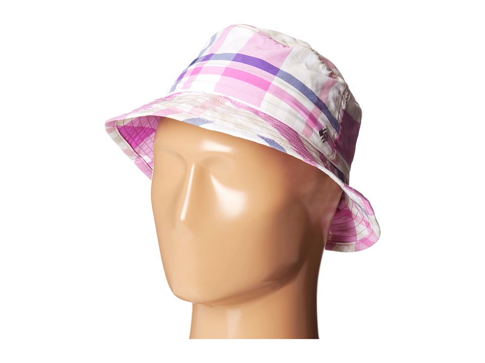 Columbia - Bahama Bucket Hat (Tropic Pink Shadow Check) Bucket Caps