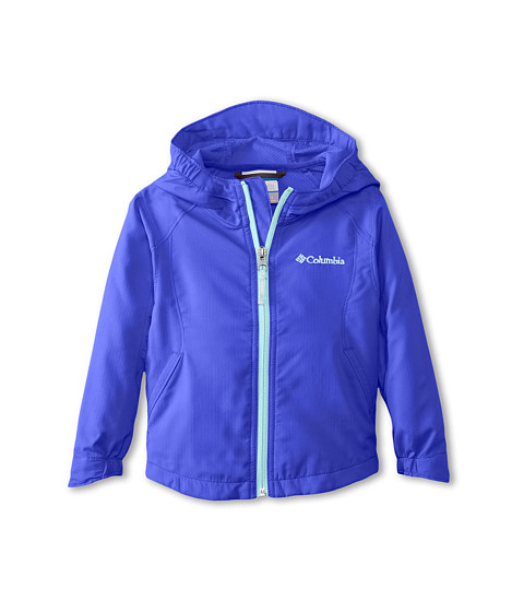 Columbia Kids - Splash Flash II Hooded Softshell Jacket (Toddler) (Light Grape/Candy Mint) Girl