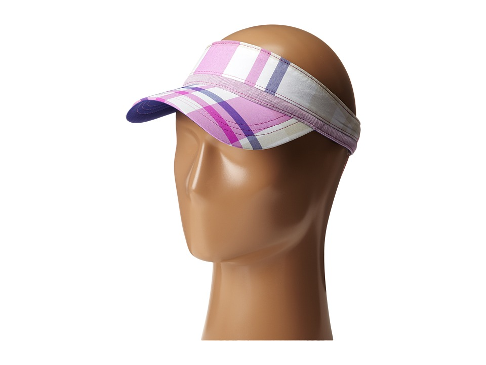 Columbia - PFG Splash Visor (Tropic Pink Shadow Check/Light Grape) Casual Visor