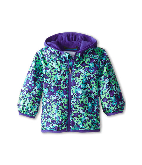 Columbia Kids - Mini Pixel Grabber II Wind Jacket (Infant/Toddler) (Light Grape Print/Light Grape) Girl's Coat