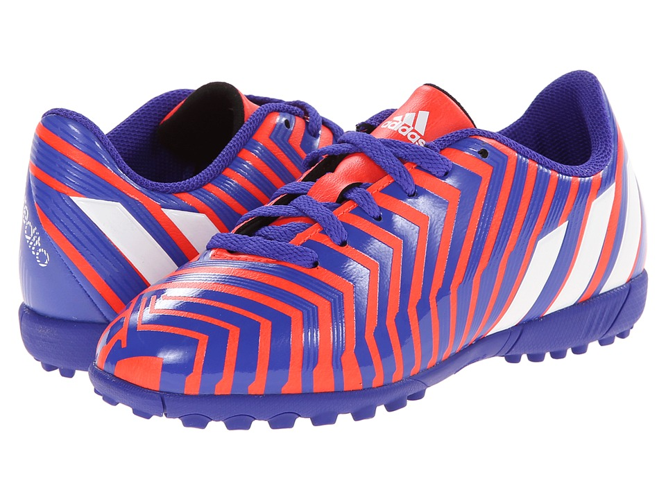 adidas Kids - Predito Instinct TF J (Little Kid/Big Kid) (Solar Red/White/Night Flash) Kids Shoes
