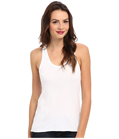 LAmade - Deep Racer Tank (White) Women's Sleeveless