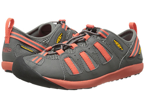 Keen - Class 5 Tech (Gargoyle/Hot Coral) Women's Shoes