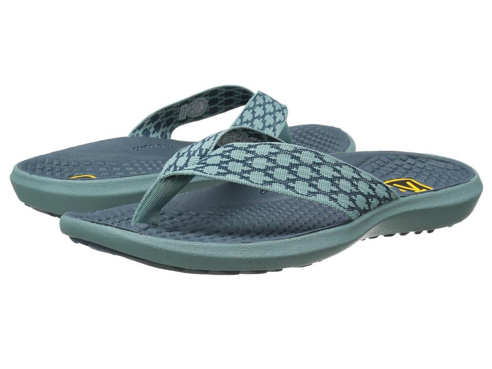 Keen - Class 5 Flip (Mineral Blue/Indian Teal) Women's Sandals