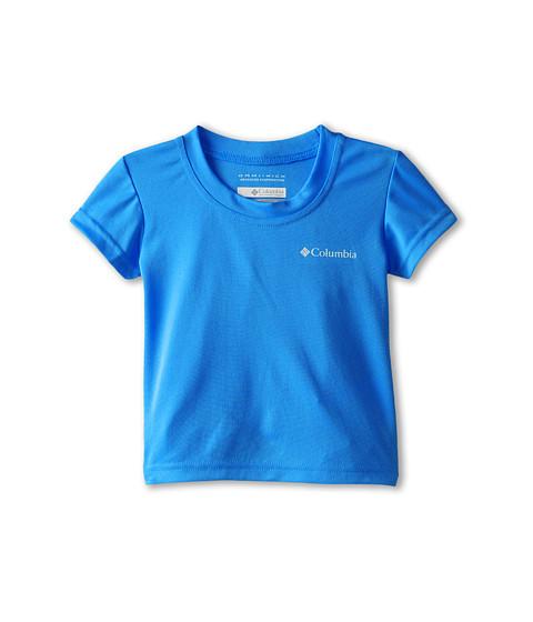 Columbia Kids - Meeker Peak II Short Sleeve Top (Toddler) (Hyper Blue) Boy