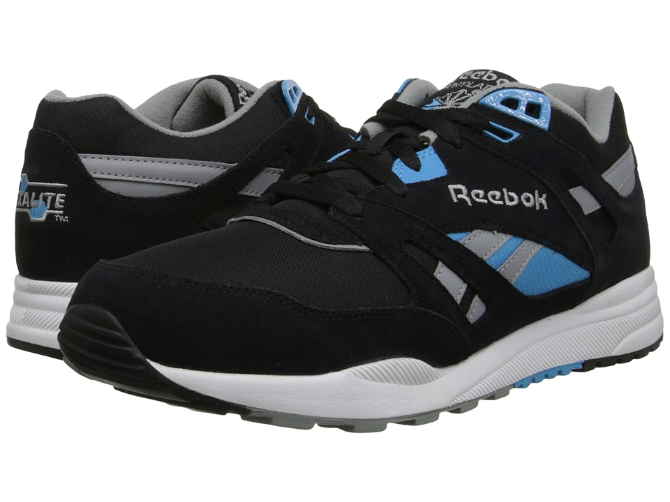 Reebok - Ventilator Pop (Black/Flat Grey/White/California Blue) Men's Classic Shoes