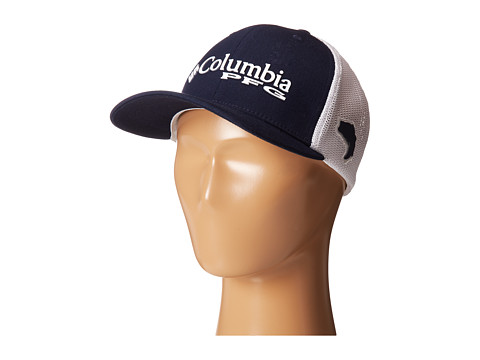 Columbia Kids - Junior Mesh Ballcap (Youth) (Collegiate Navy/Bass) Baseball Caps