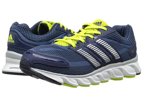 adidas Kids - Powerblaze K (Little Kid/Big Kid) (Vista Blue/Silver Metallic/Collegiate Navy) Boys Shoes