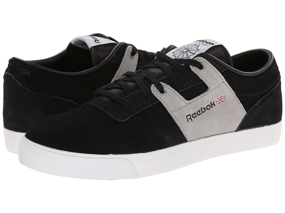 Reebok Lifestyle - Workout Low Clean FVS (Black/Flat Grey/White) Men