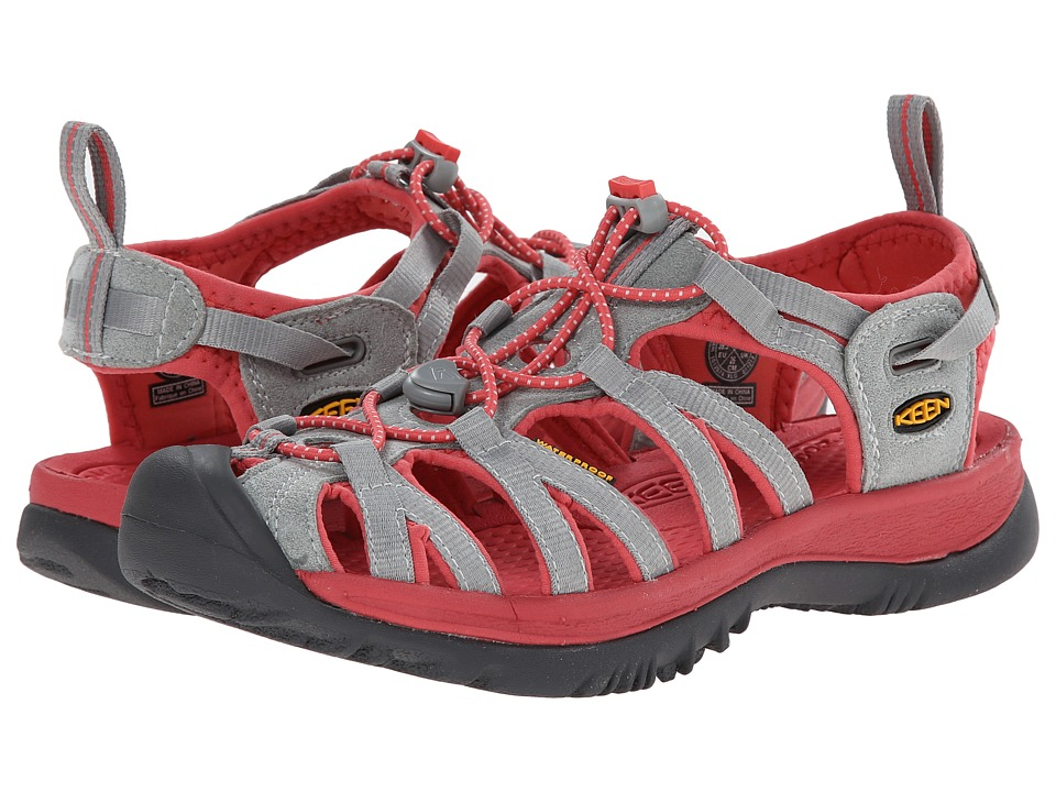 Keen - Whisper (Neutral Gray/Rose) Women's Sandals