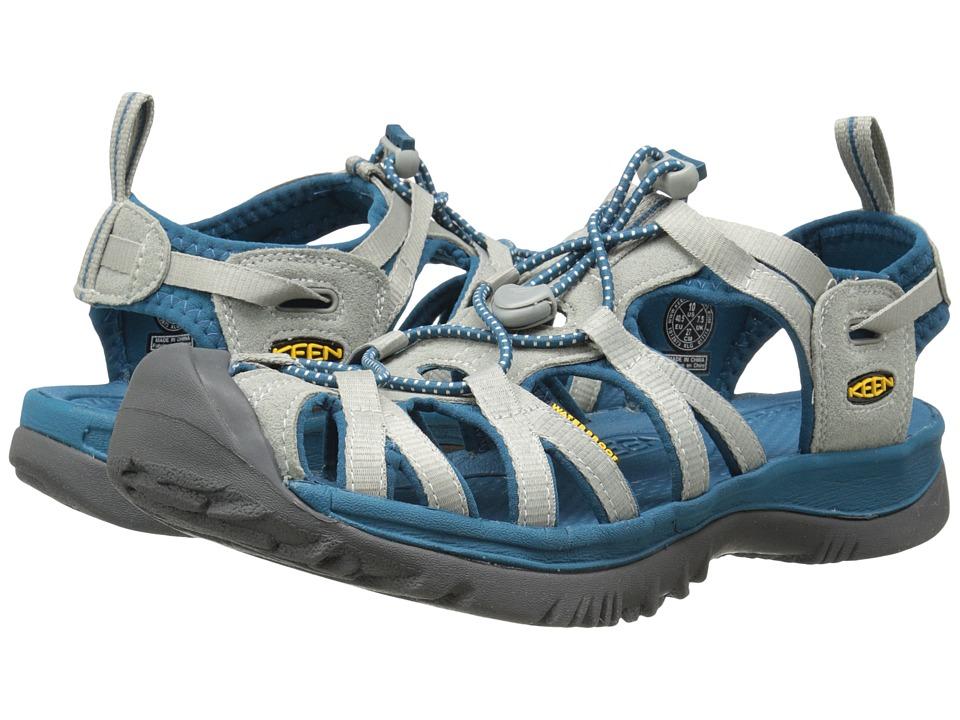 Keen - Whisper (Neutral Gray/Ink Blue) Women's Sandals