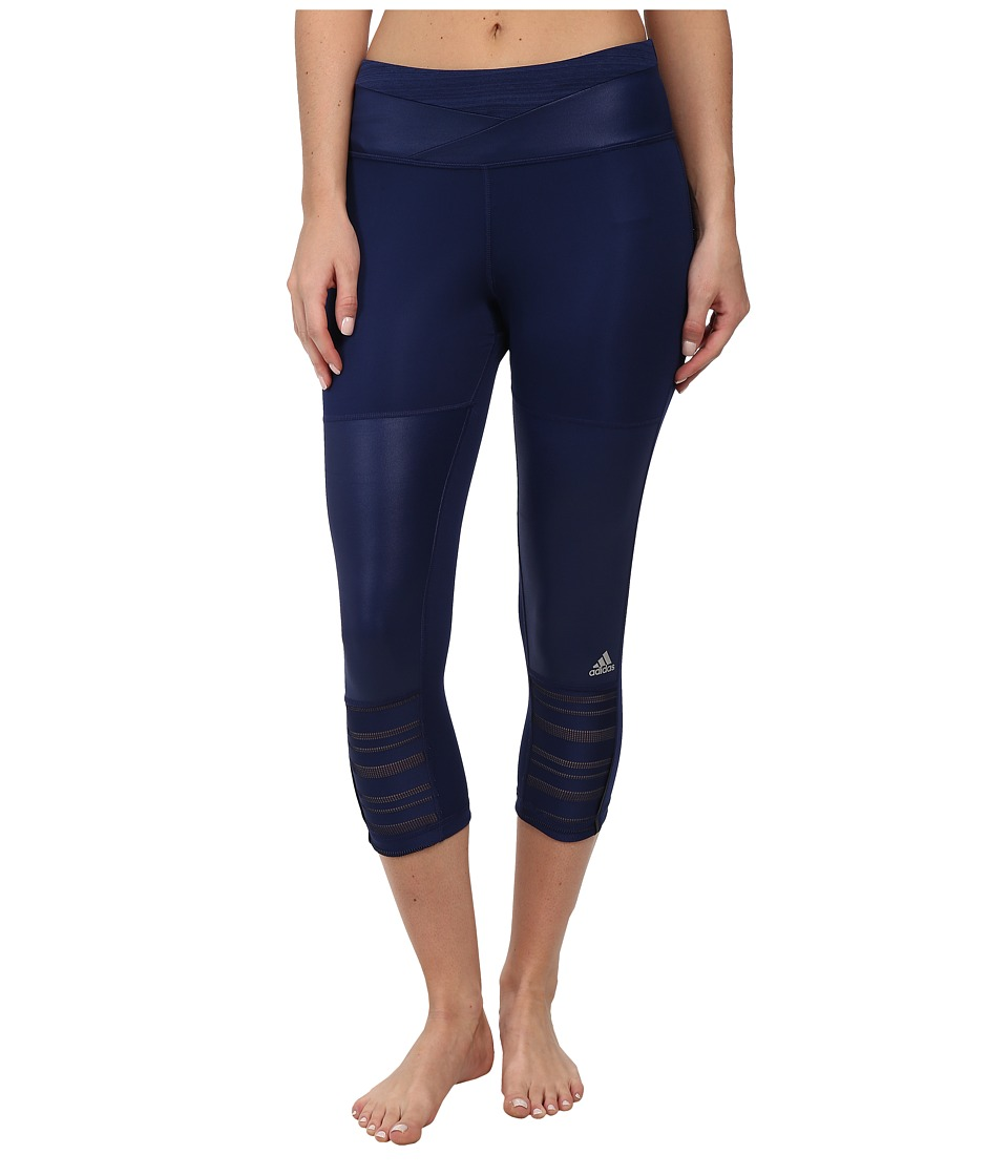 adidas - Supernova Three-Quarter Tight (Night Sky) Women