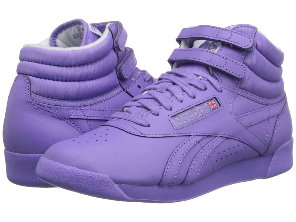 Reebok - Freestyle Hi Spirit (Lush Orchid/White) Women's Classic Shoes