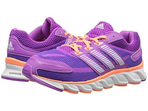 adidas Kids - Powerblaze K (Little Kid/Big Kid) (Flash Pink/White/Flash Orange) Girls Shoes