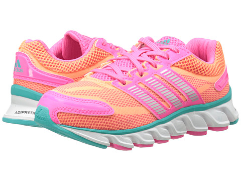 adidas Kids - Powerblaze K (Little Kid/Big Kid) (Solar Pink/White/Vivid Mint) Girls Shoes