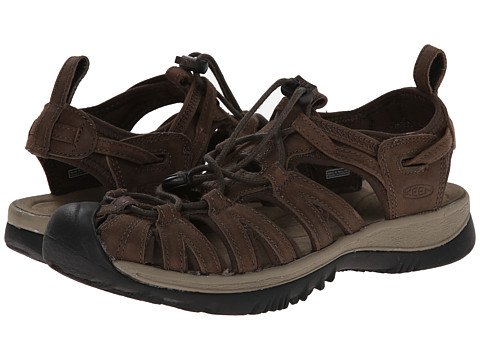 Keen - Whisper Leather (Cascade Brown/Brindle) Women's Shoes