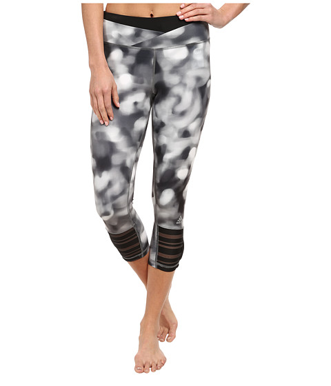 adidas - Supernova Three-Quarter Tight - Festival Print (Black/Print) Women's Workout
