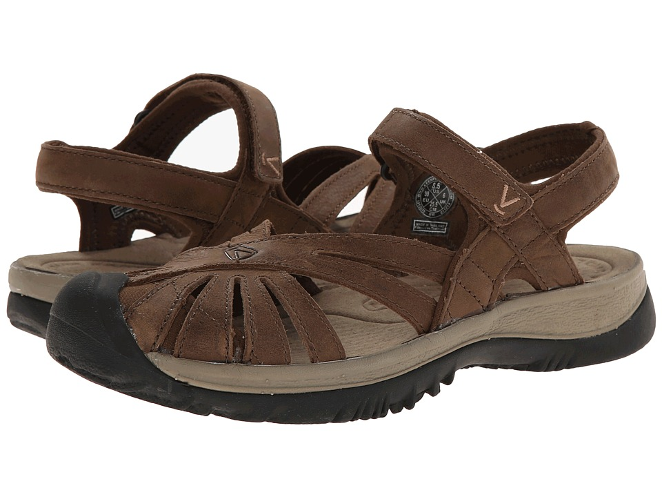 Keen Rose Leather (Dark Earth/Brindle) Women