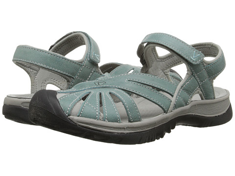 Keen - Rose Leather (Mineral Blue/Neutral Gray) Women's Shoes