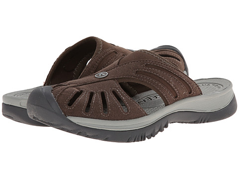Keen - Rose Slide (Cascade Brown/Neutral Gray) Women