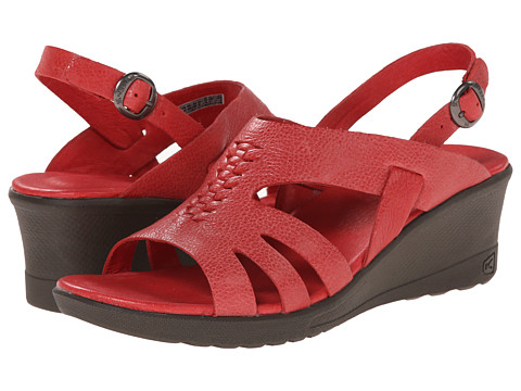 Keen - Elizabeth (Ribbon Red) Women's Wedge Shoes