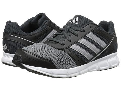 adidas Kids - Hyperfast K (Little Kid/Big Kid) (Dark Grey/Silver Metallic/Onix) Boys Shoes