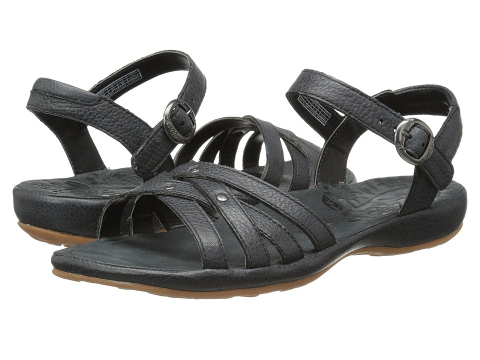 Keen City of Palms Sandal (Solid Black) Women