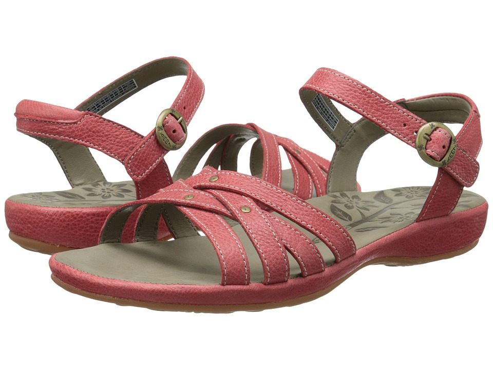 Keen - City of Palms Sandal (Ribbon Red) Women's Sandals