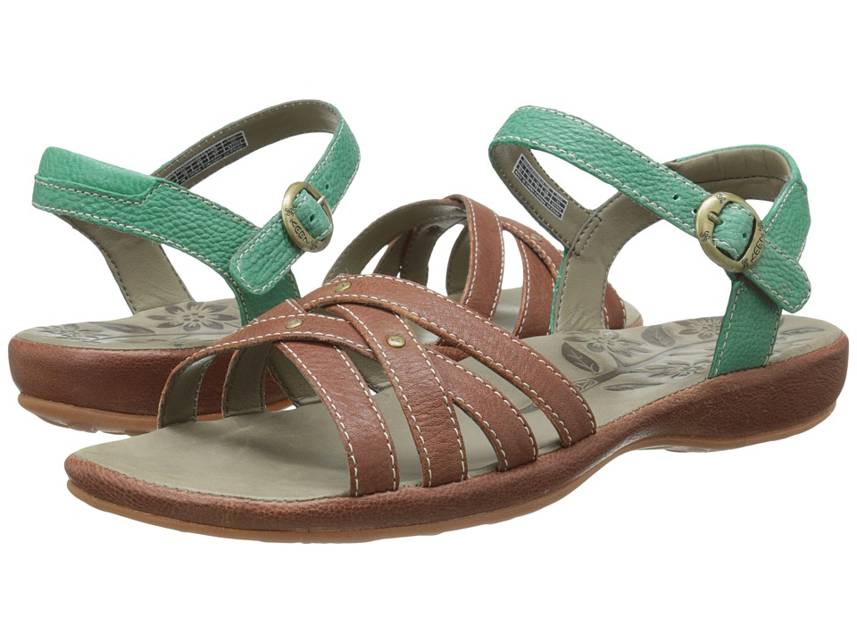 Keen City of Palms Sandal (Tortoise Shell/Ultramarine) Women