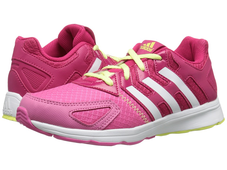 adidas Kids - Az-Faito K (Little Kid/Big Kid) (Vivid Berry/White/Semi Solar Pink) Girls Shoes