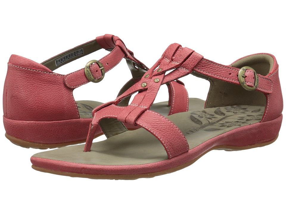 Keen - City of Palms Posted (Ribbon Red) Women's Sandals