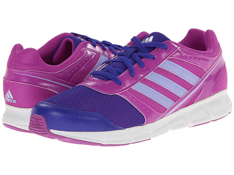 adidas Kids - Hyperfast K (Little Kid/Big Kid) (Flash Pink/Glow Purple/Night Flash) Girls Shoes