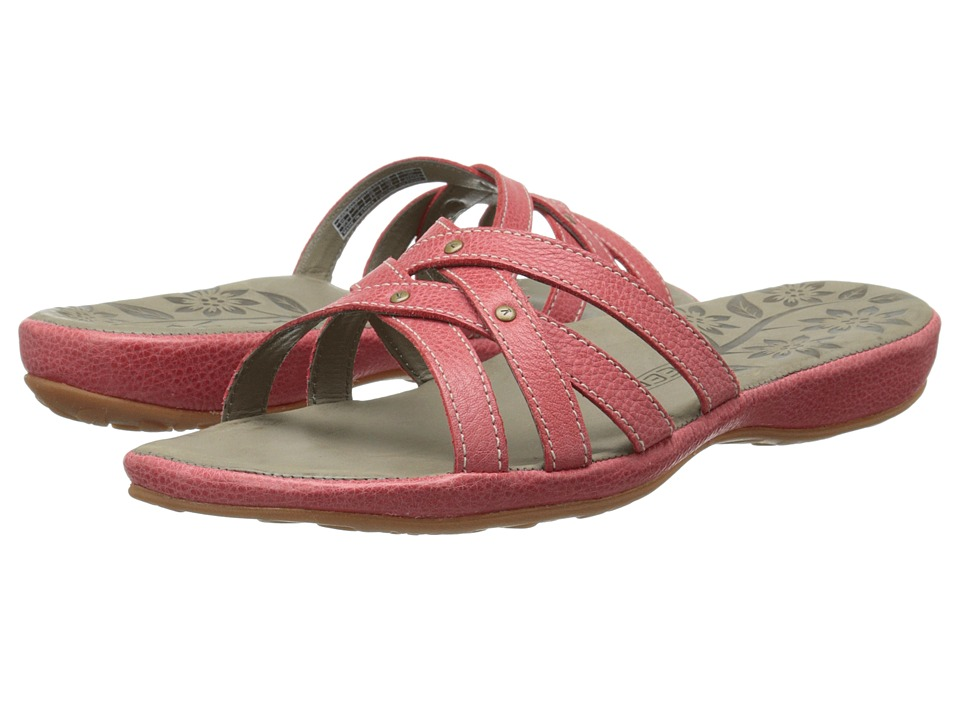 Keen City of Palms Slide (Ribbon Red) Women