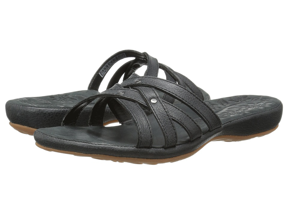 Keen - City of Palms Slide (Solid Black) Women's Sandals