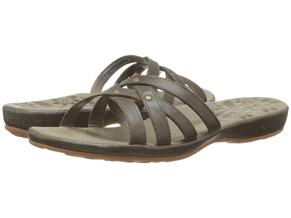 Keen - City of Palms Slide (Cascade Brown) Women's Sandals