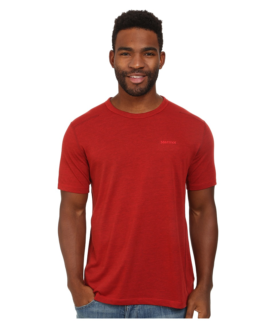 Marmot - Vance S/S (Redstone Heather) Men's T Shirt