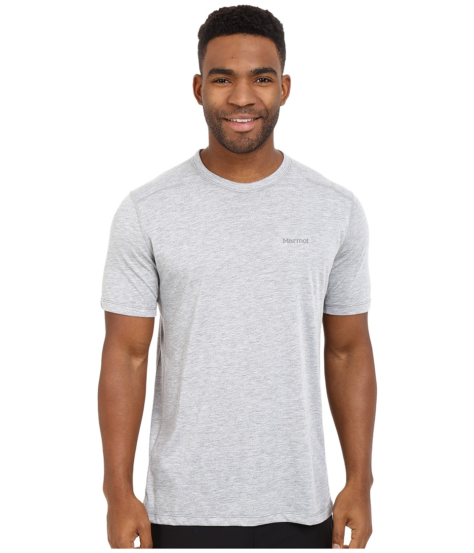 Marmot - Vance S/S (Steel Heather) Men's T Shirt