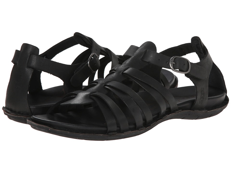 Keen - Alman Gladiator (Black) Women's Sandals