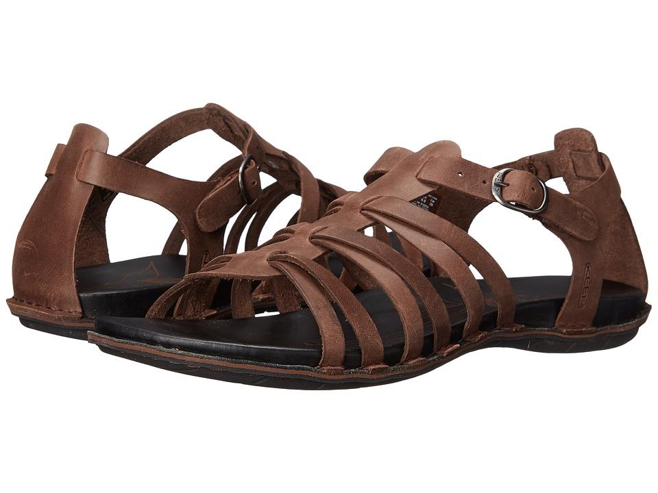 Keen - Alman Gladiator (Chestnut) Women's Sandals