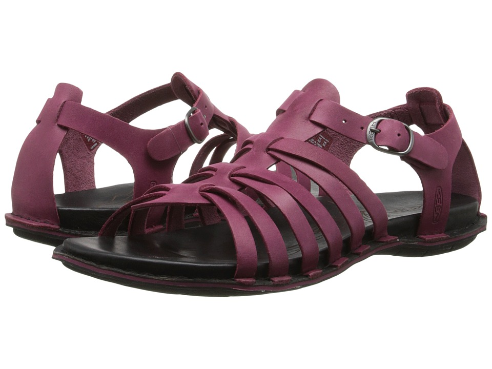 Keen Alman Gladiator (Beet Red) Women