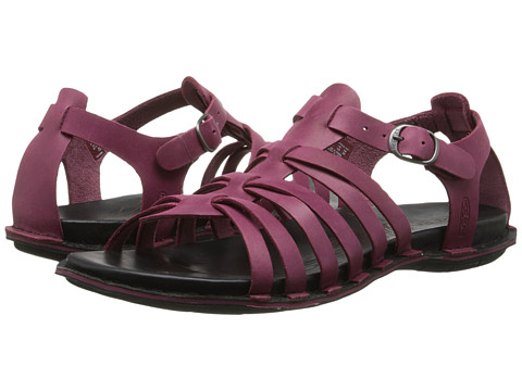 Keen - Alman Gladiator (Beet Red) Women's Sandals