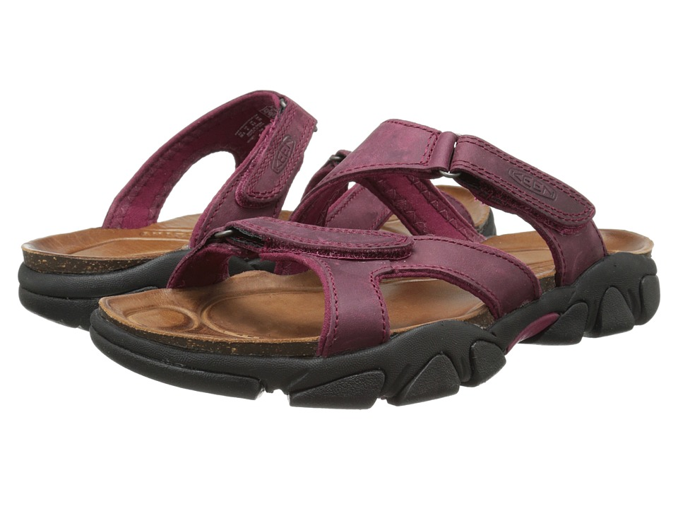 Keen - Sarasota Slide (Beet Red) Women's Sandals