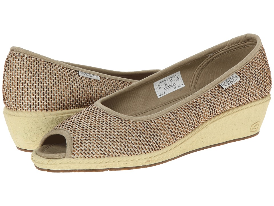 Keen Cortona Wedge Jute (Kelp) Women
