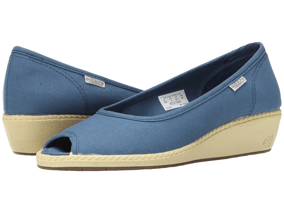 Keen Cortona Wedge CVS (Indian Teal) Women