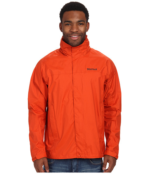 Marmot - PreCip Jacket (Orange Haze) Men